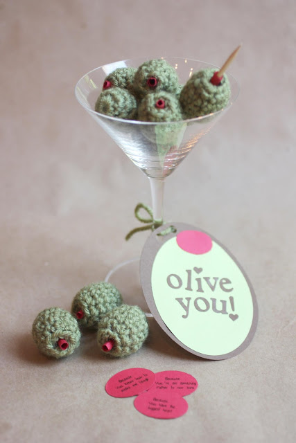 Crochet Olive You Beads at Repeat Crafter Me