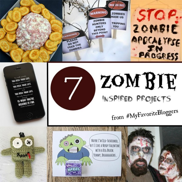 Zombie Themed Ideas for your Walking Dead Watch Party at www.happyhourprojects.com
