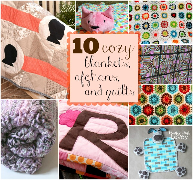 Friday Finds: Cuddle Up with 10 Great Quilts, Afghans, and Blankets