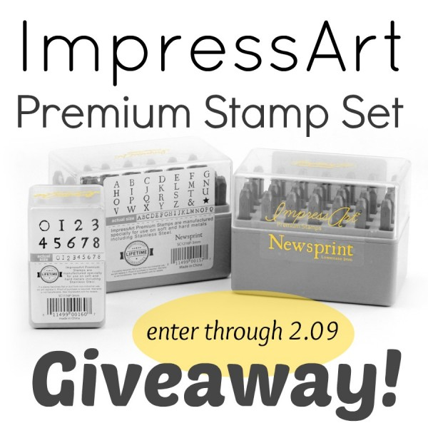 ImpressArt Premium Stamp Set Giveawa at www.happyhourprojects.com