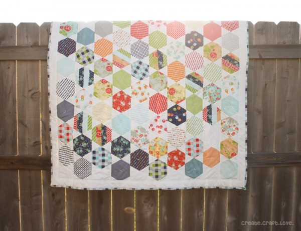 Happy Go Lucky Juggle Quilt at Create.Craft.Love