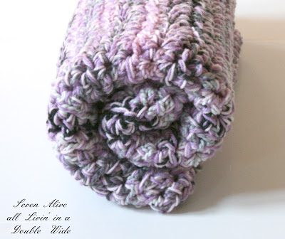 Speedy Chunky Crochet Afghan at Seven Alive