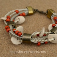 Ceramic Bead Layered Bracelet and an O and N Craft Supplies Giveaway