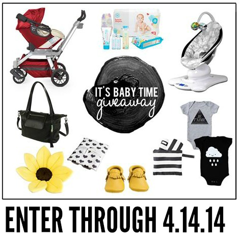 It's Baby Time! (A Great Baby Giveaway!)
