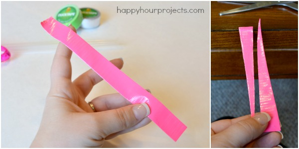 How To Make Duck Tape Beads at www.happyhourprojects.com
