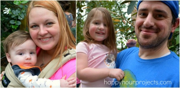 Family Butterfly Outing at www.happyhourprojects.com