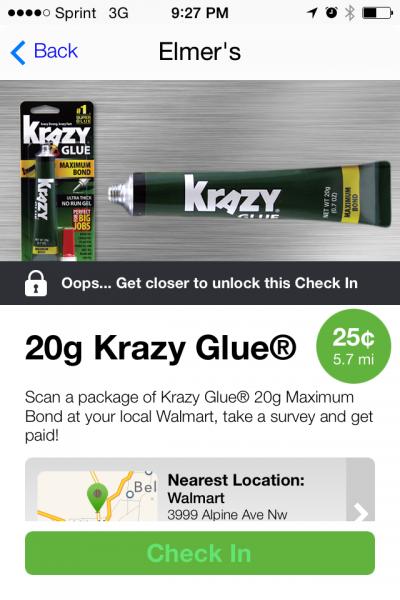 Krazy Deals on Krazy Glue with Jingit