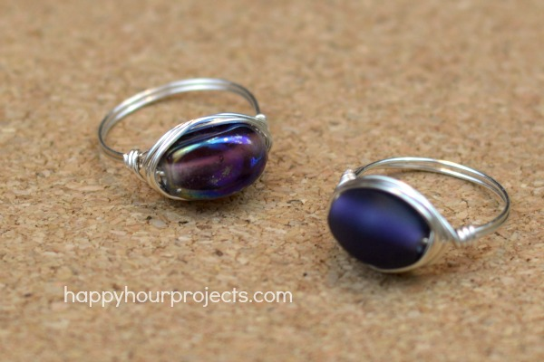 Wire Wrapped Ring Video Tutorial at www.happyhourprojects.com