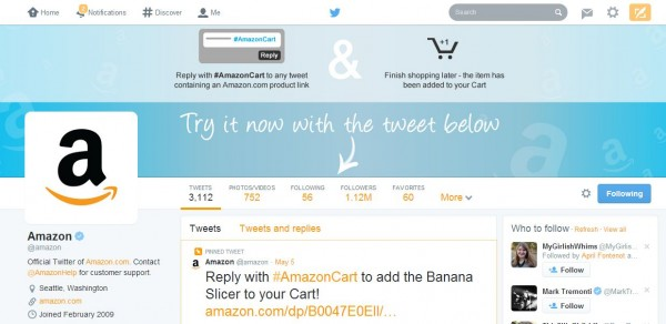 Turn Your Friend's Tweet Into a Surprise Gift With #AmazonCart #cbias #shop