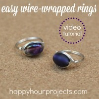 Video Tutorial: Easy Wire-Wrapped Ring