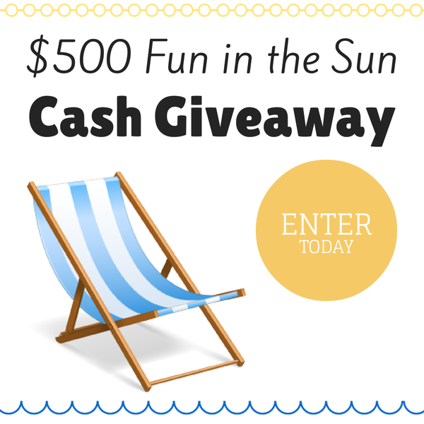$500 Cash Giveaway at www.happyhourprojects.com | Through 07.15 .14