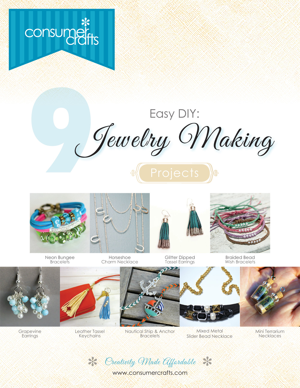 ConsumerCrafts $100 Shopping Spree Giveaway and FREE Jewelry eBook