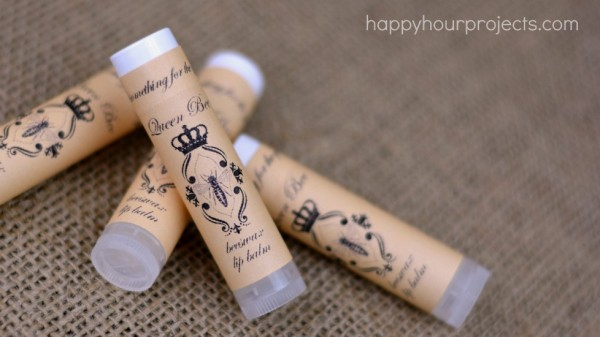 photo about Printable Video named Handmade Beeswax Lip Balm, Absolutely free Printable, Online video Guide