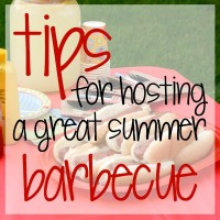 5 Tips For Hosting a Great Barbecue