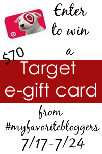Target Giveaway at www.happyhourprojects.com