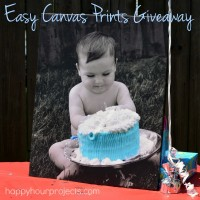 Smash Cake Canvas & Easy Canvas Prints Giveaway