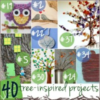 40 Fantastic Tree-Inspired Projects