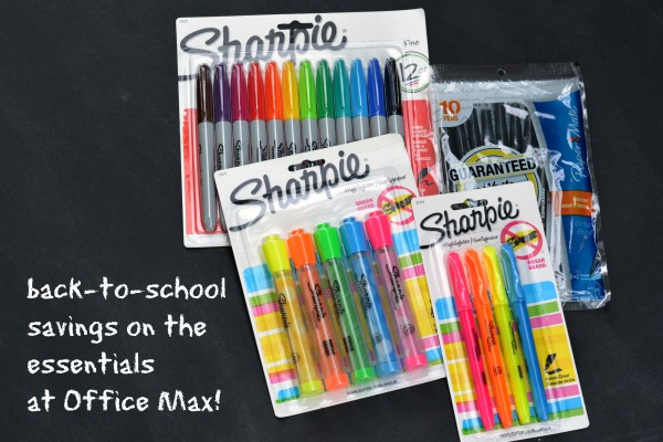 Back to School Sharpie Highlighter Teacher Gift at www.happyhourprojects.com
