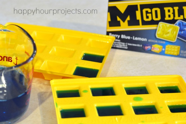Team Color Jell-O Blocks at www.happyhourprojects.com #TeamJellO #shop #cbias