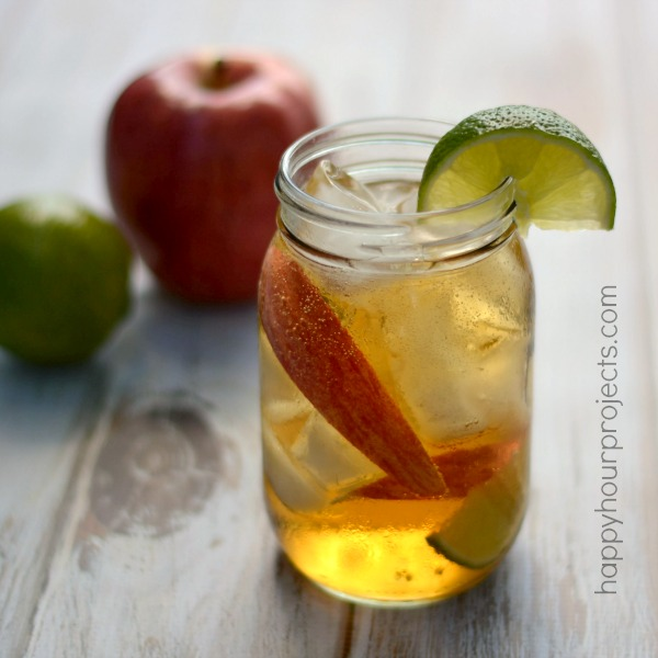 Taste of Autumn: Bud Light Lime Apple-Ahhh-Rita at www.happyhourprojects.com