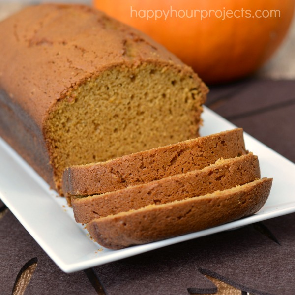 Pumpkin Spice Bread at www.happyhourprojects.com