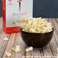 Unwinding with Skinnygirl Low Calorie Popcorn