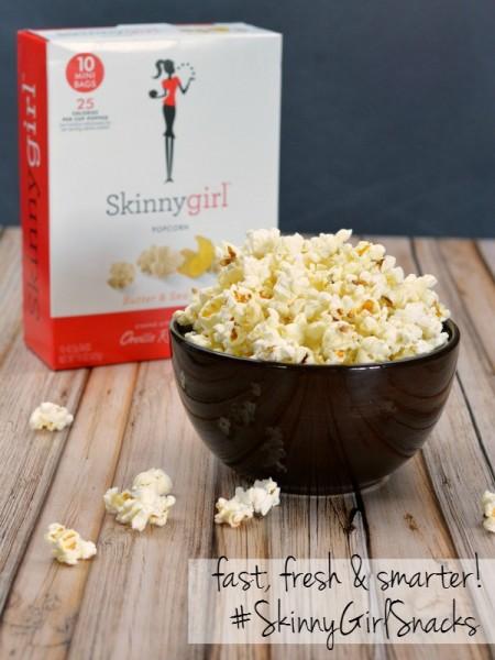 Skinny Girl Popcorn #SkinnyGirlSnacks #CollectiveBias #shop