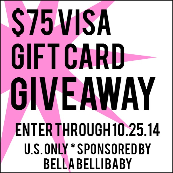 $75 Visa Gift Card Giveaway at www.happyhourprojects.com