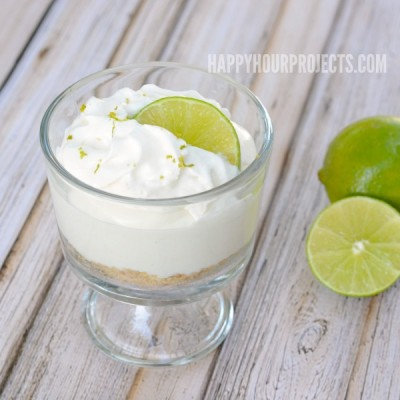 Key Lime Mousse Dessert at www.happyhourprojects.com