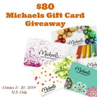 $80 Michaels Gift Card Giveaway