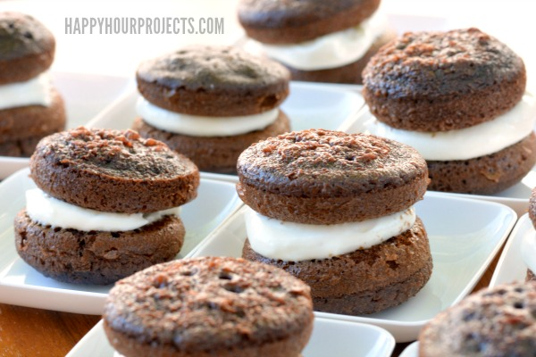 Mini Whoopie Pies at www.happyhourprojects.com