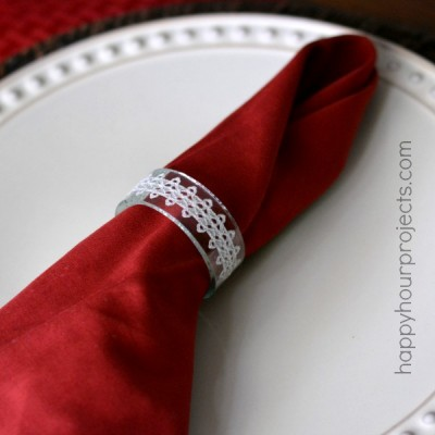 Recycled Glass Bottle Napkin Rings & Kinkajou Prize Pack Giveaway