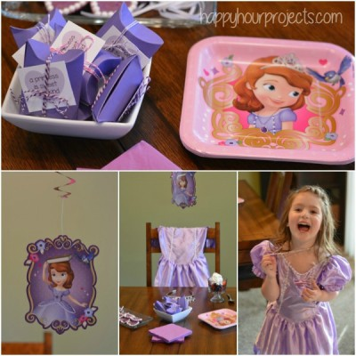 Sofia the First Halloween Costume and Party Ideas