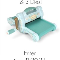 Sizzix Big Shot Prize Pack Giveaway