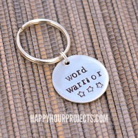 Stamped Keychain – For Writers (Or For Anyone)
