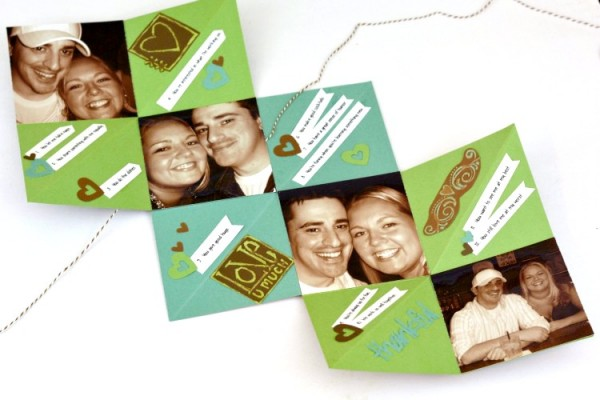 Thankful Accordion Fold Card at www.happyhourprojects.com