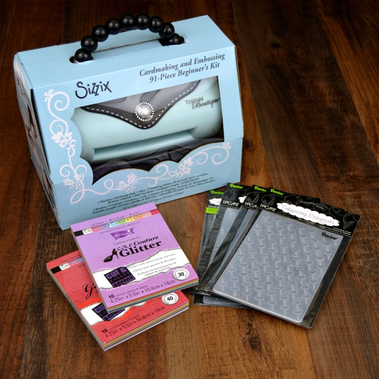 Sizzix Texture Boutique Bundle Giveaway at www.happyhourprojects.com