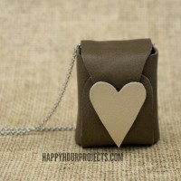 Leather Music Box Necklace