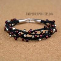 Winterberry Woven Bracelet