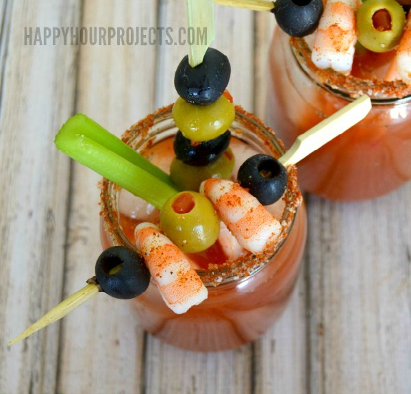 New Orleans Inspired Cajun Bloody Mary at www.happyhourprojects.com