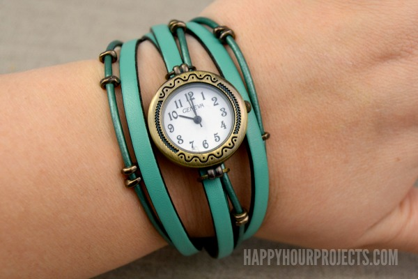 Bracelet watch diy