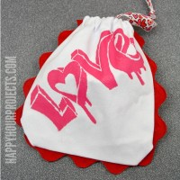 I Love To Create Mystery Box Challenge: No-Sew Valentine Gift Pouch & Giveaway