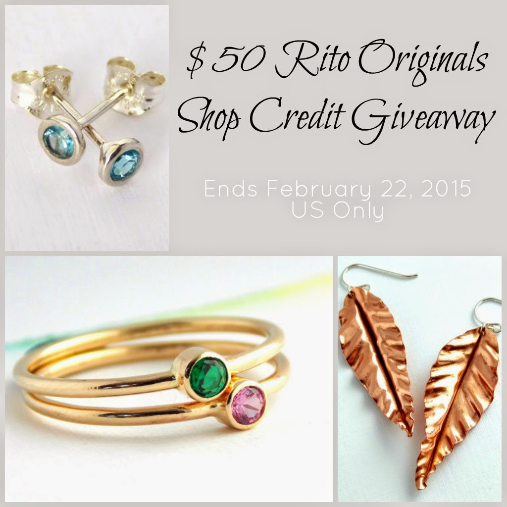 Rito Originals $50 Jewelry Giveaway at www.happyhourprojects.com
