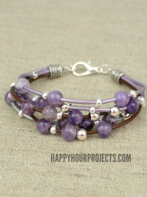 http://happyhourprojects.com/wp-content/uploads/2015/03/Layered-Leather-Beaded-Bracelet-2-300x400.jpg