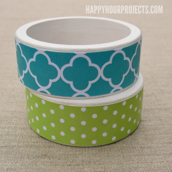 how to make bangles with paper