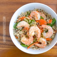 Quick and Easy Shrimp & Quinoa