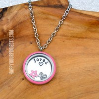 DIY Spring Charm Lockets