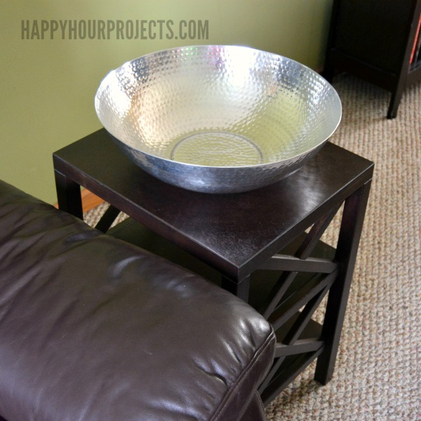 How to Choose the Right Side Table for your Space at www.happyhourprojects.com