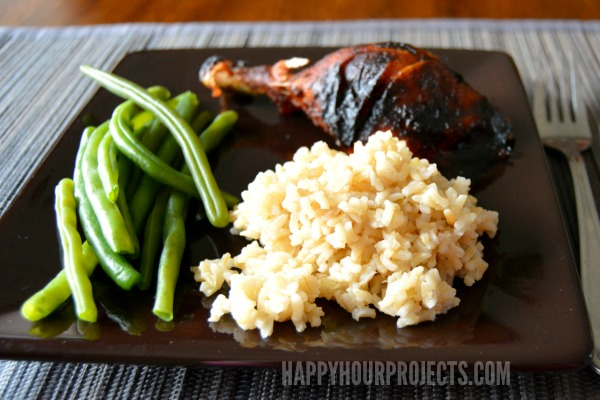 Easy Meals With Minute Rice at www.happyhourprojects.com | Just 15 Minutes Spent in the Kitchen