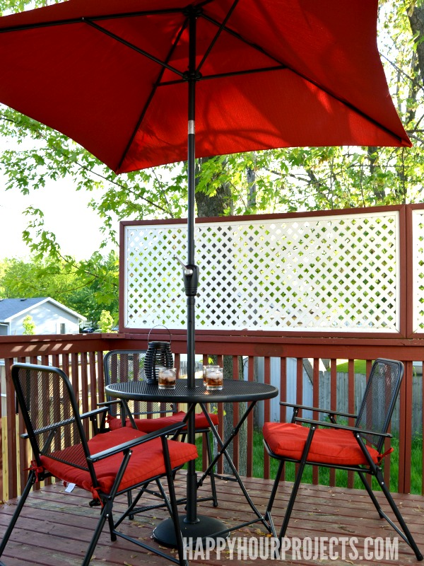 Take it Outside: Midweek Hosting Made Easy at www.happyhourprojects.com #TargetStyle